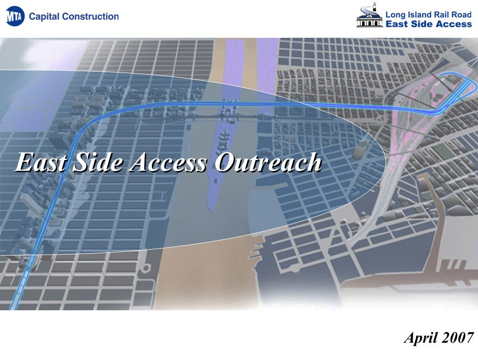 East Side Access Outreach