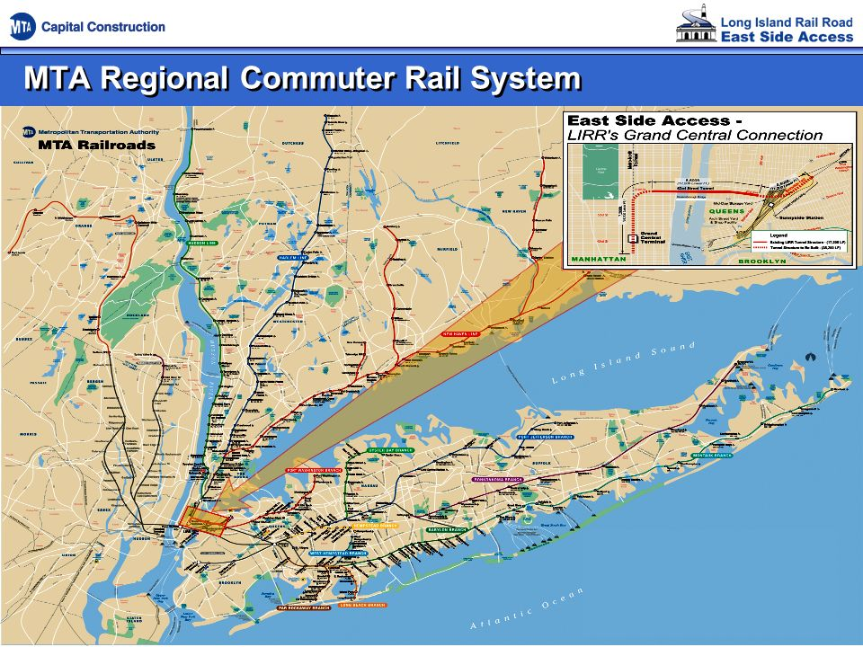 MTA Regional Commuter Rail System