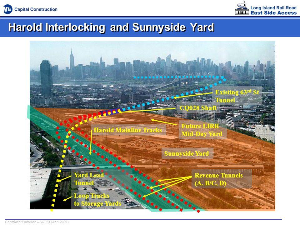 Harold Interlocking and Sunnyside Yard