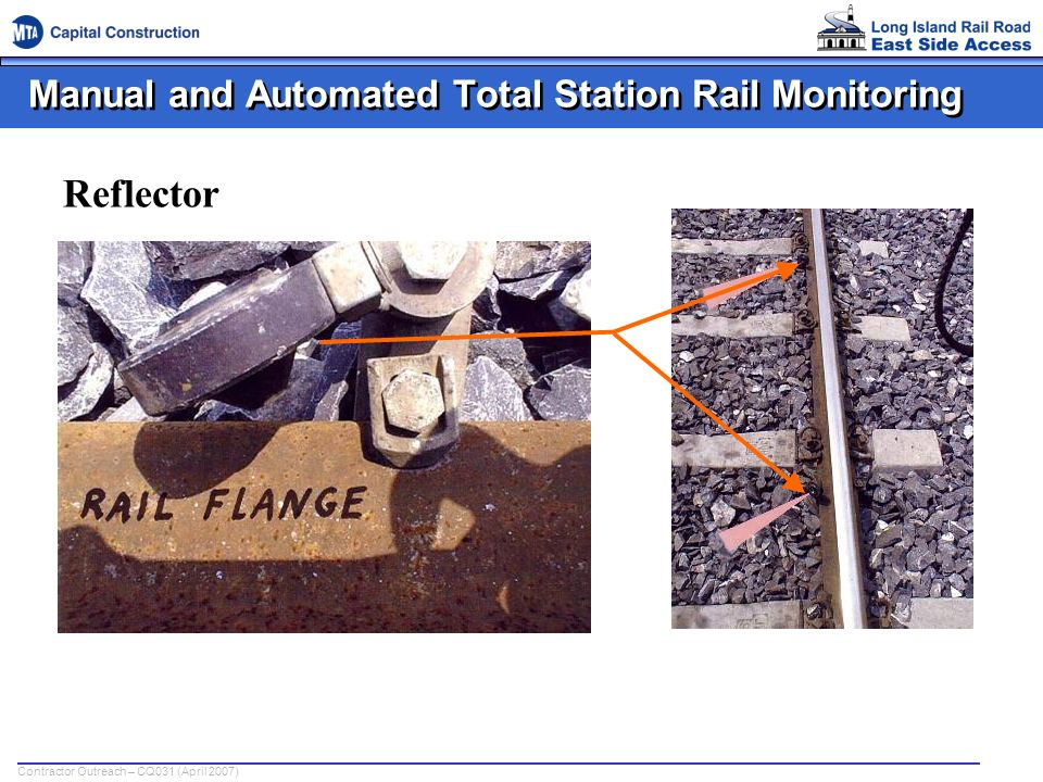 Manual and Automated Total Station Rail Monitoring