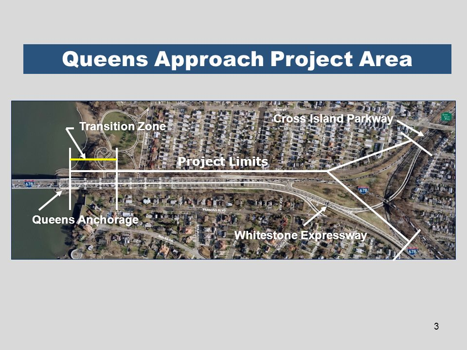 Queens Approach Project Area