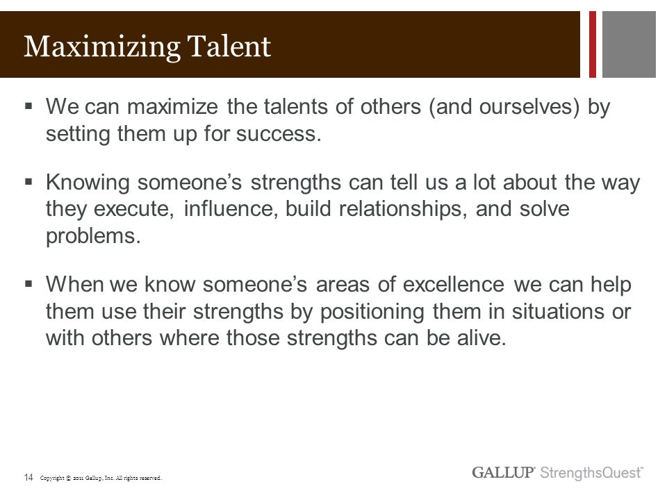 maximizing strengths In order to become our best selves and reach our true potential, we must focus on  maximizing our strengths here are six ways to maximize.