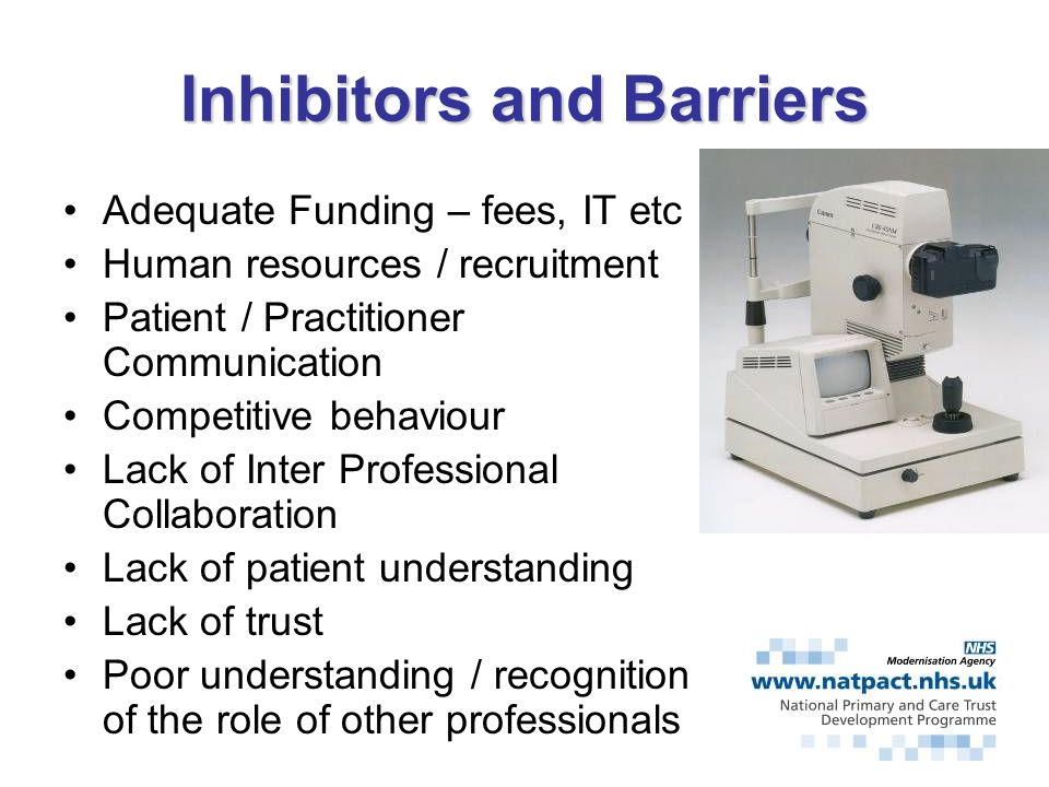 Inhibitors and Barriers