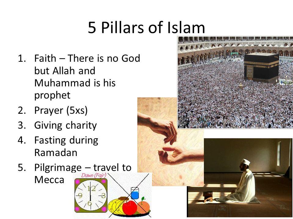 5 pillar of islam in 5