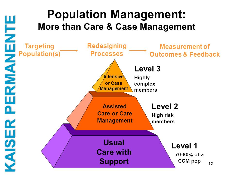 Population Management: More than Care & Case Management
