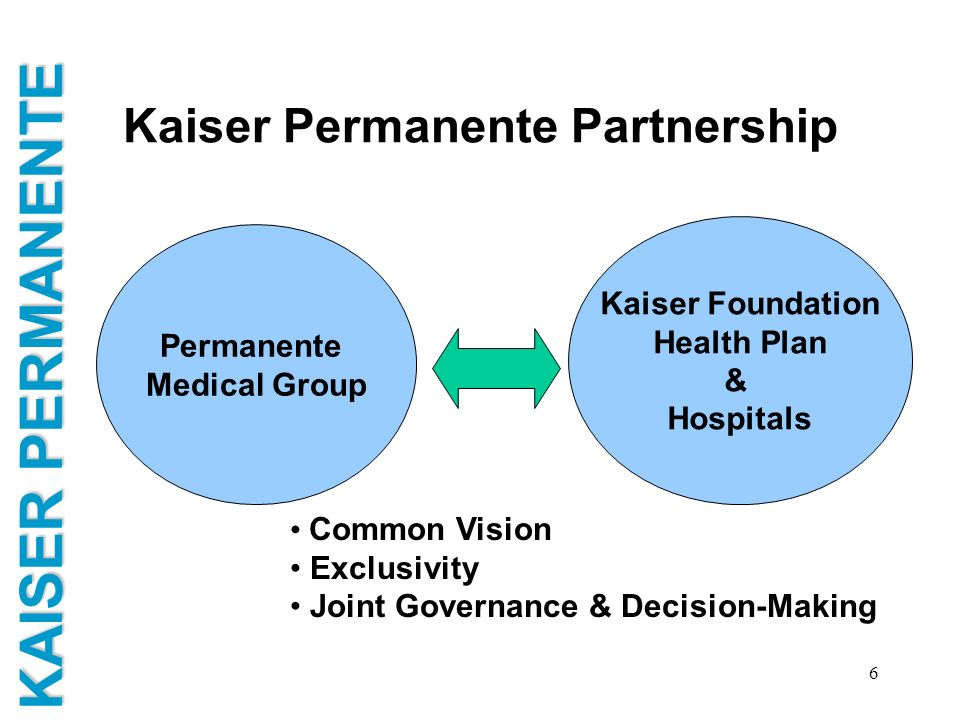 Kaiser Permanente Partnership