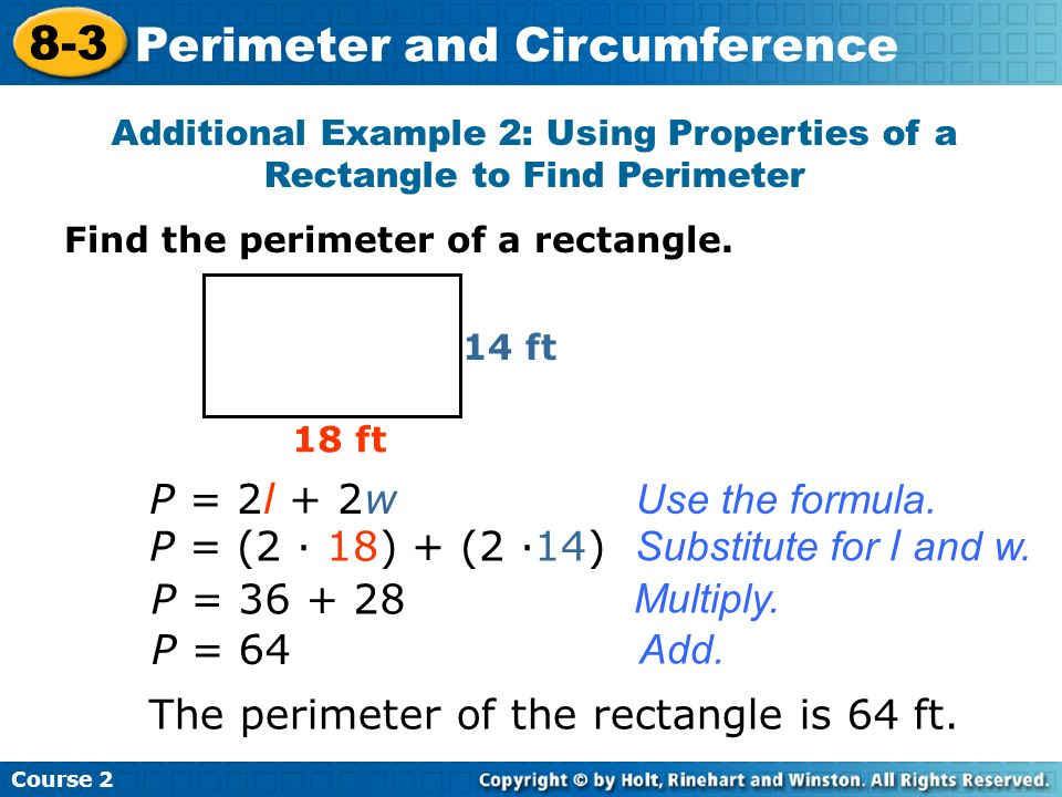 Perimeter and circumference ppt download perimeter and circumference ccuart Gallery