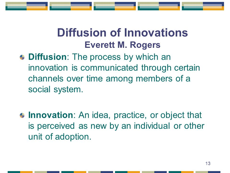 diffusion of innovation everett rogers pdf