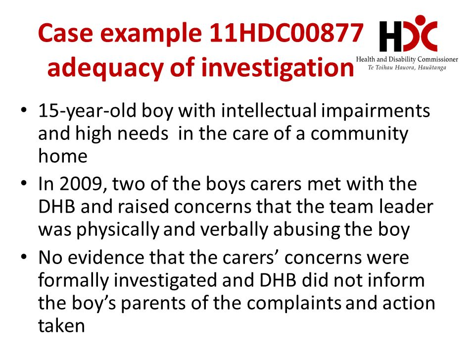 at DHBs Complaints Management Helen Davidson & Jessica ...