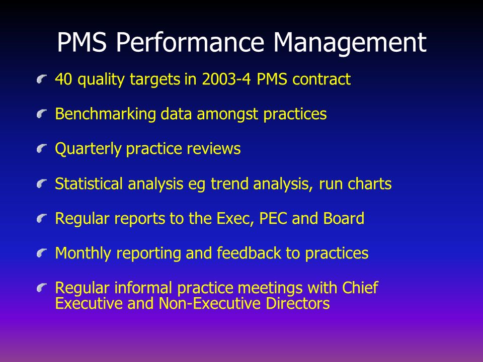 PMS Performance Management