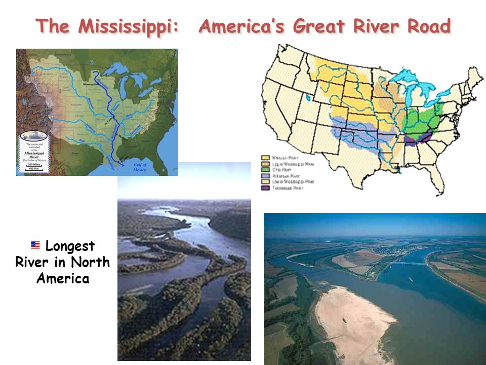 The United States And Canada Ppt Download - Longest river in the us map