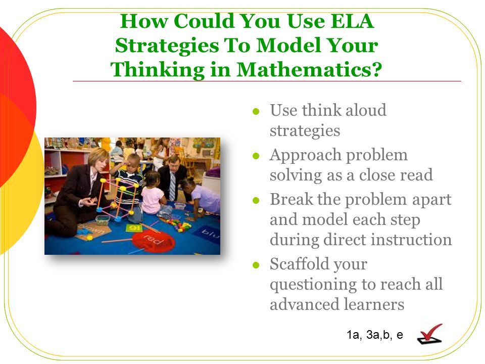 List Of Research Based Instructional Strategies For Math