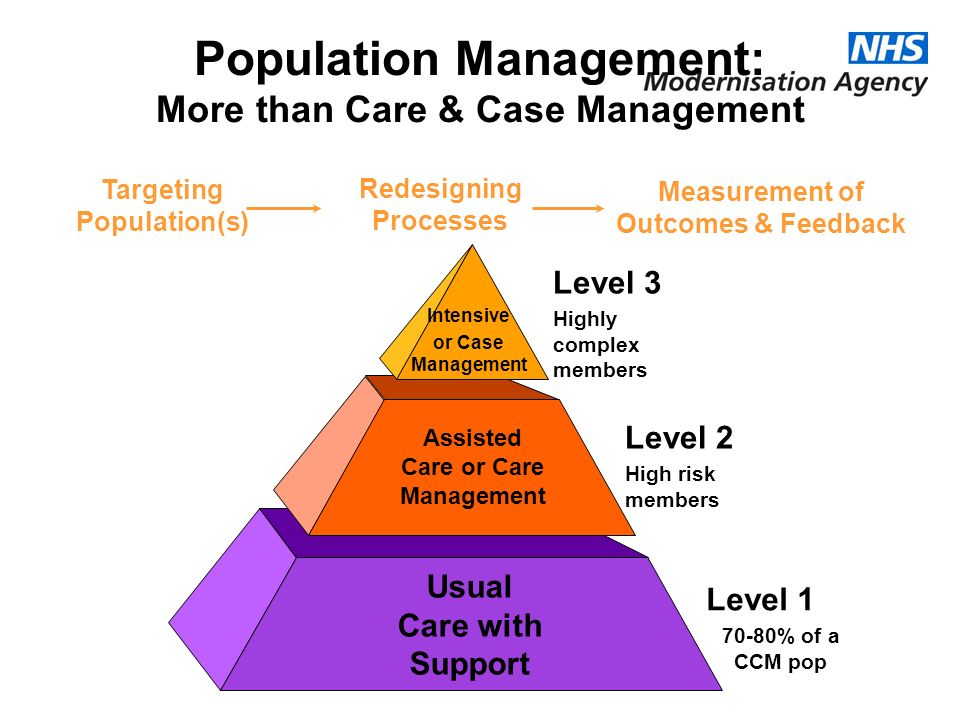 Population Management: More than Care & Case Management