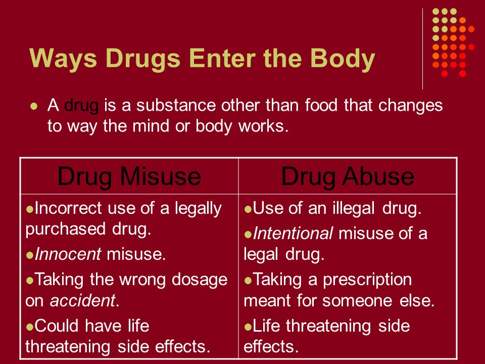 Using Drugs to Promote Health - ppt video online download