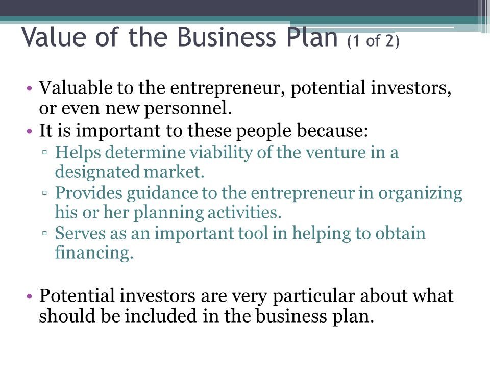 entrepreneurship high potential venture and business plans