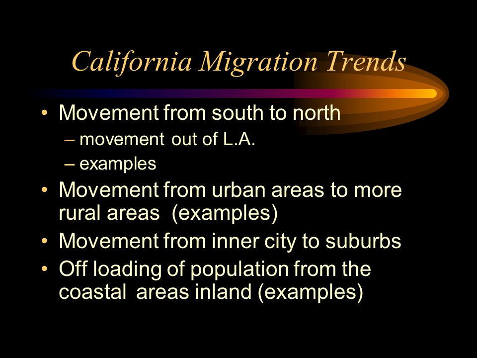 California Migration Trends