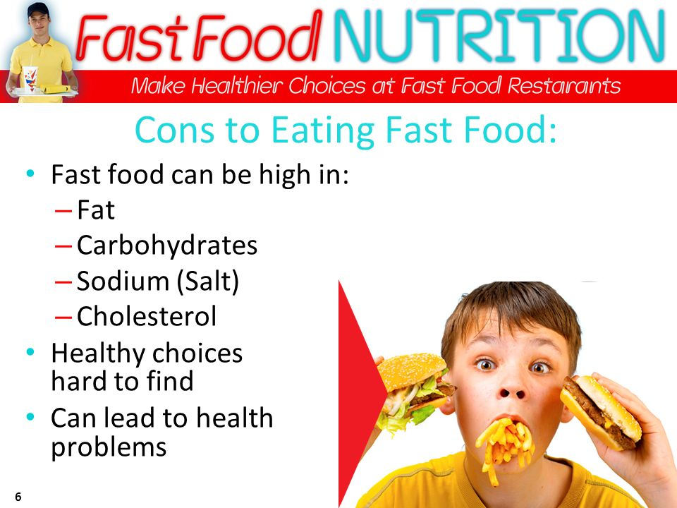 Fast Food Choices For High Cholesterol