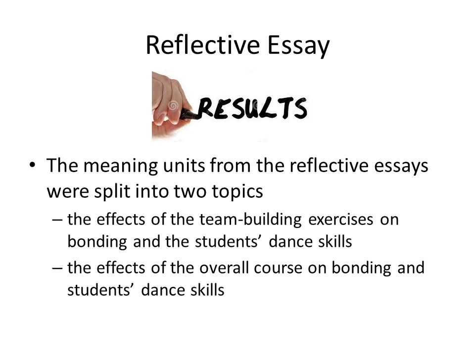 reflective essay on team building Team building reflective essay harvard application essay prompt 2010 prescription proventil inhalerurl connected to the release of histamines this drug can come in.