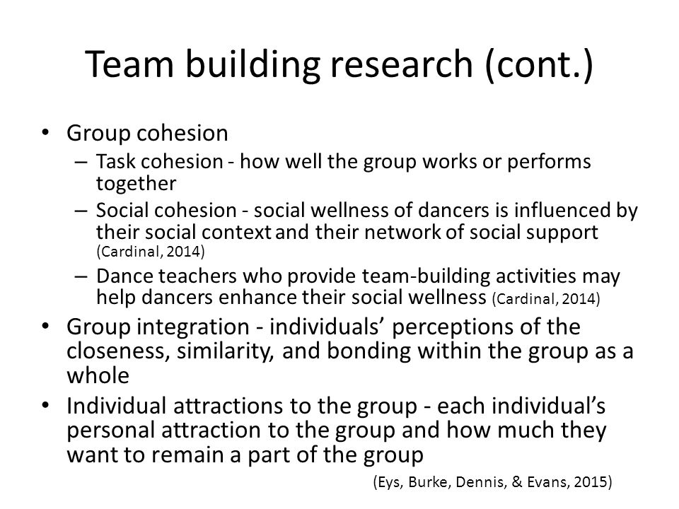 lack of group cohesiveness psychology essay Lack of cohesiveness in groups with diverse communication problems among group members lack of cohesiveness in and members of qad make sure that papers are.