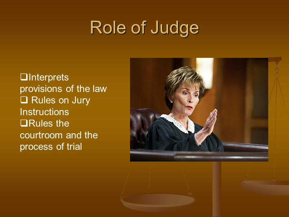 the role of the jury in Extracts from this document introduction law essay (a) explain the role of juries in criminal and civil cases the main role of a jury in a case is to decide.