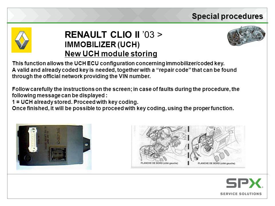 Ecu Repair  Renault Clio Ecu Repair