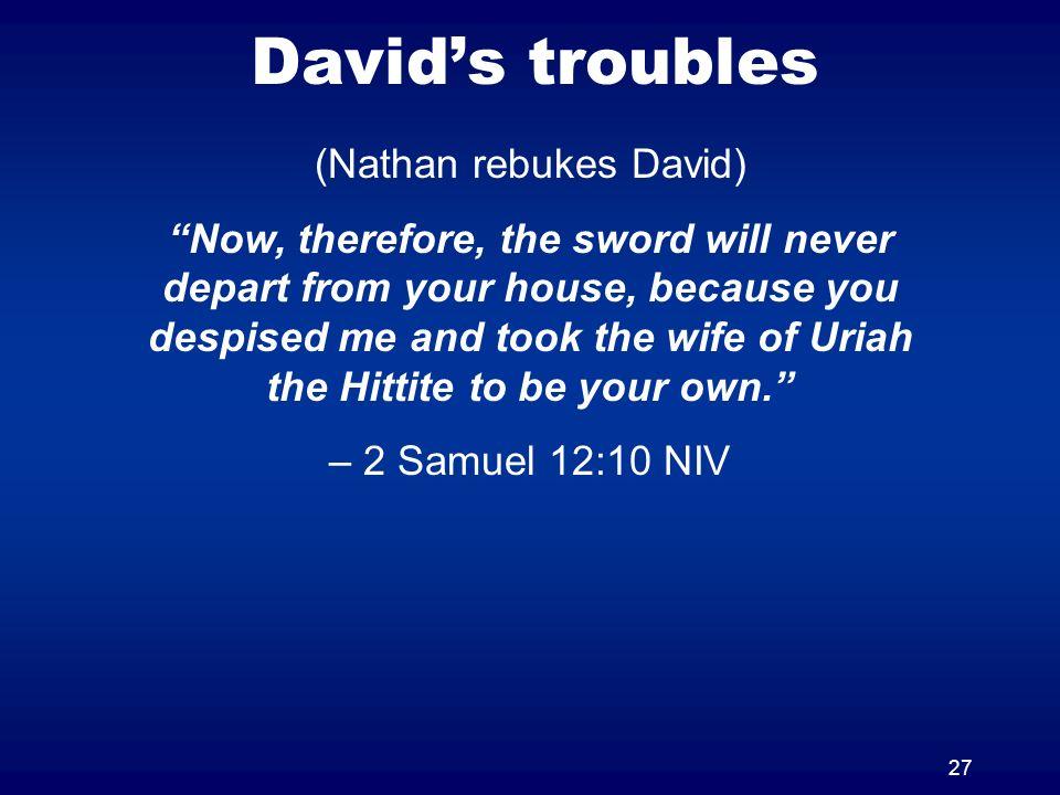 (Nathan rebukes David)