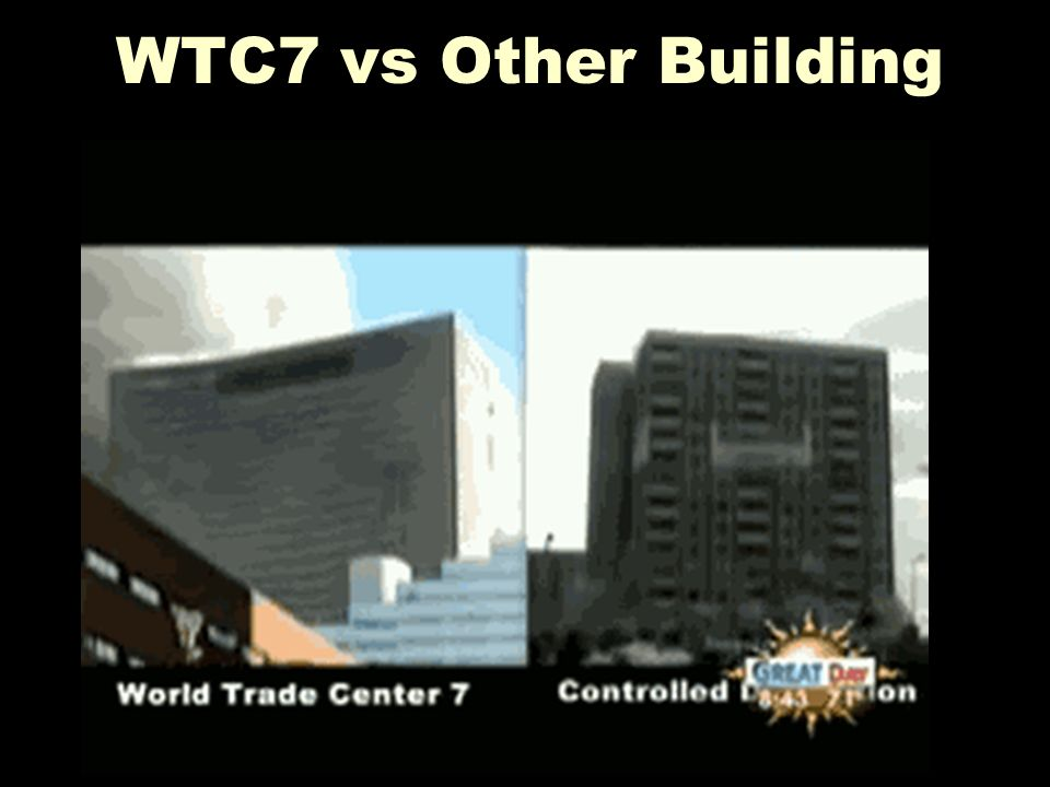 WTC7 vs Other Building