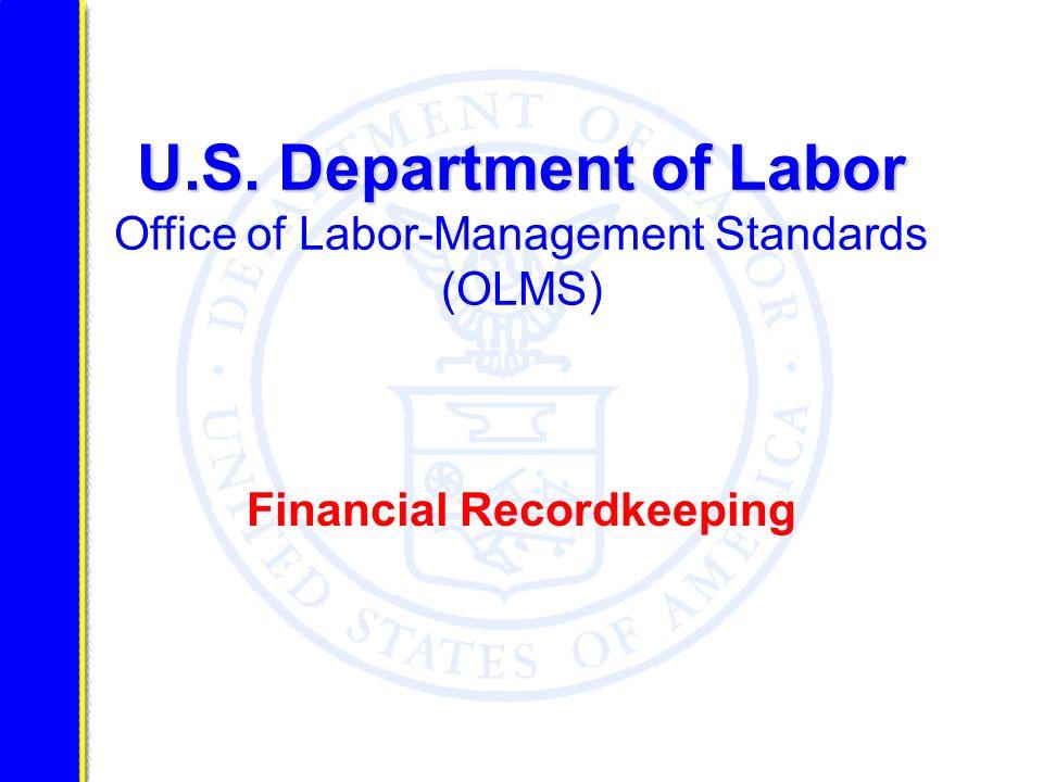 Financial Recordkeeping