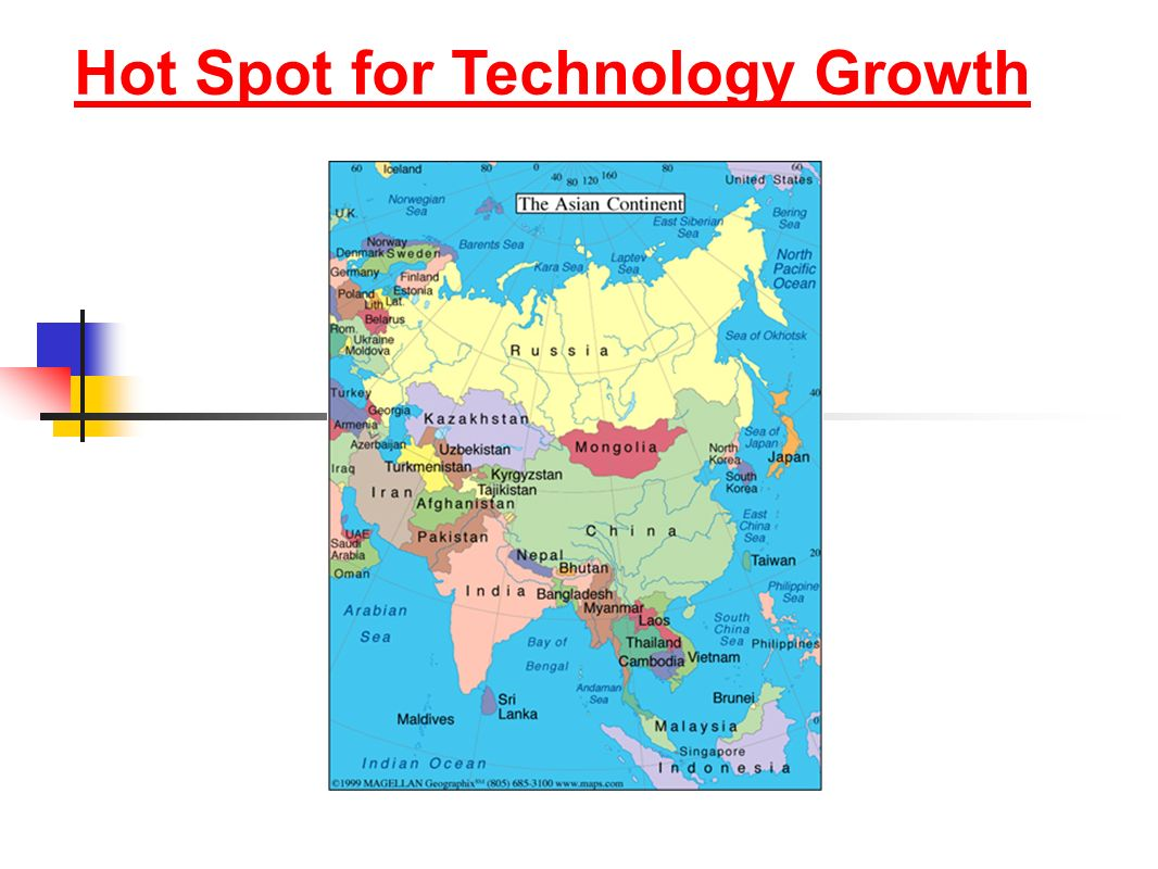 Hot Spot for Technology Growth