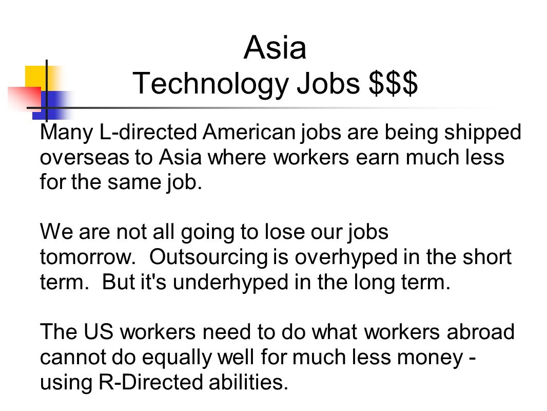 Asia Technology Jobs $$$