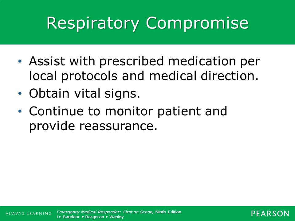 Respiratory Compromise