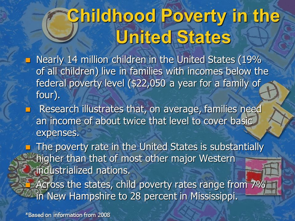 poverty and children in the united states research paper Here given is a custom-written essay example on the topic of poverty and children in united states feel free to read this paper night and day  and research .