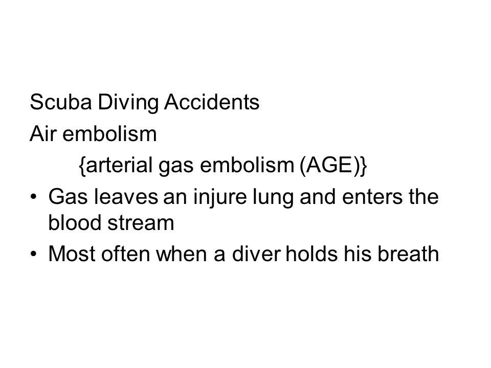 Scuba Diving Accidents