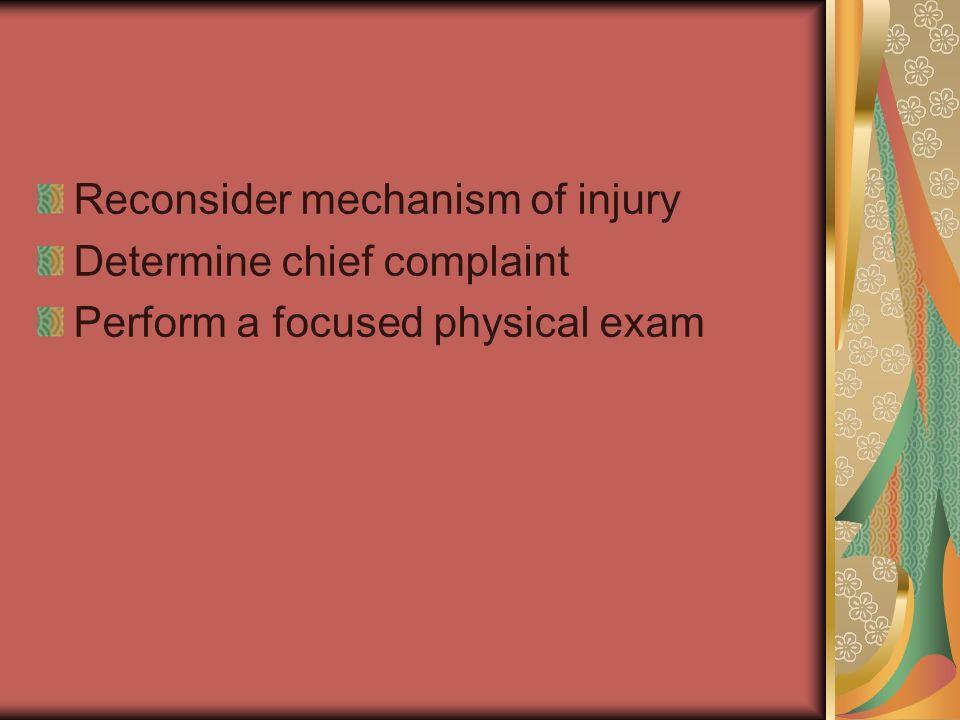 Reconsider mechanism of injury