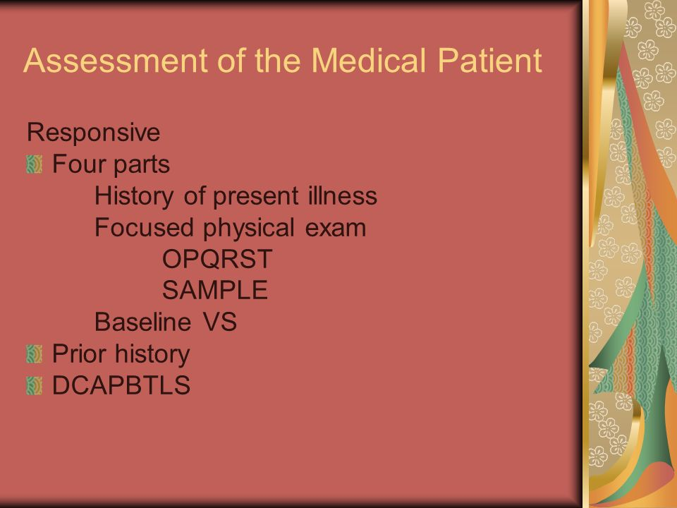 Assessment of the Medical Patient