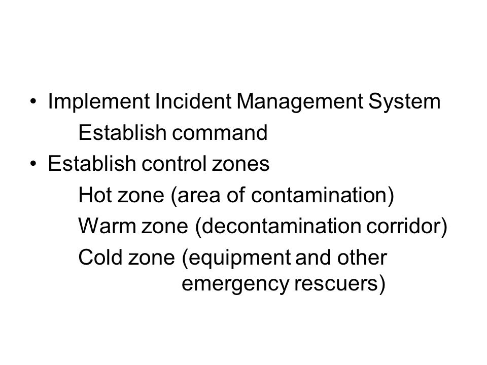 Implement Incident Management System