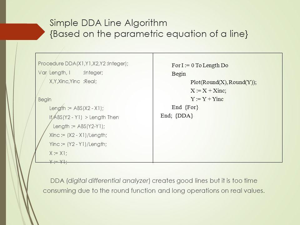 Bresenham Line Drawing Algorithm Solved Problems : Computer graphics output primitives by : dhaval shah. ppt