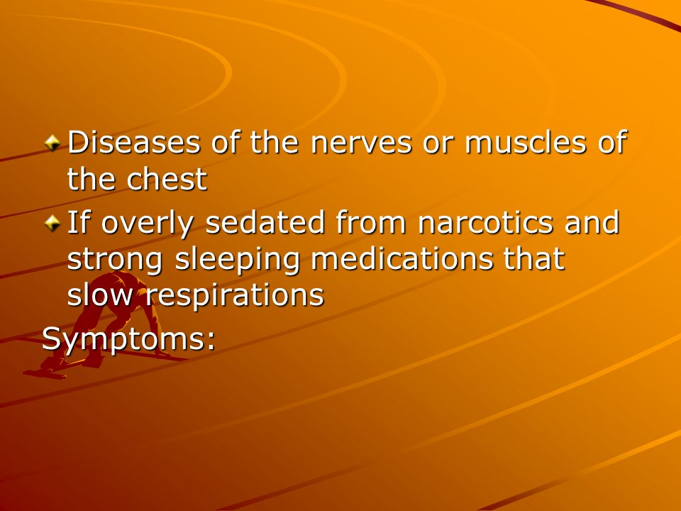 Diseases of the nerves or muscles of the chest