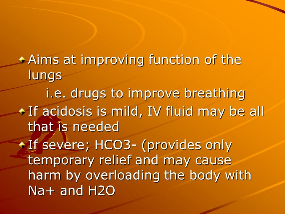 Aims at improving function of the lungs