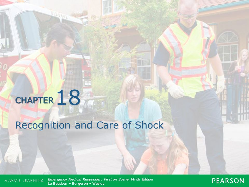 Recognition and Care of Shock