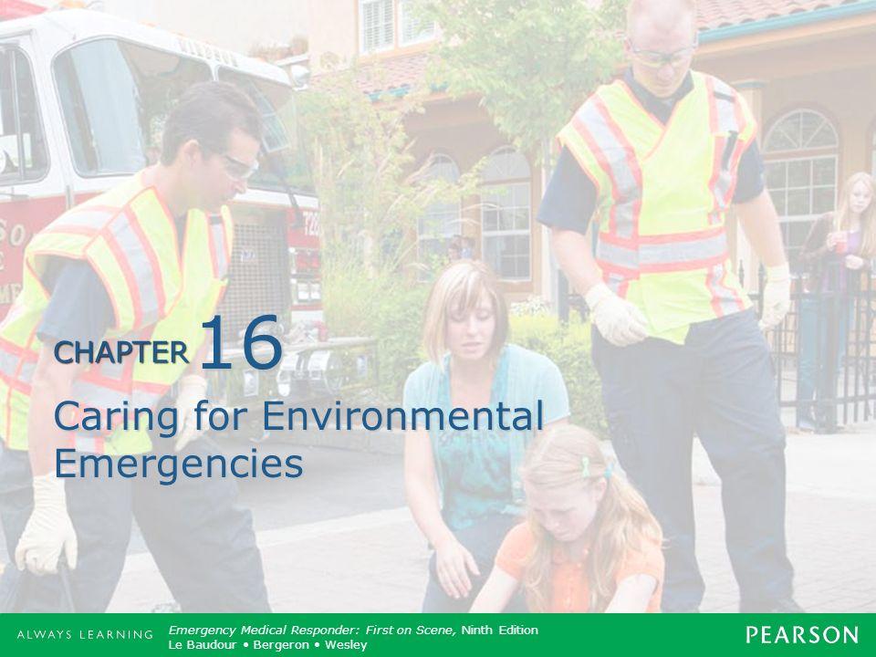Caring for Environmental Emergencies