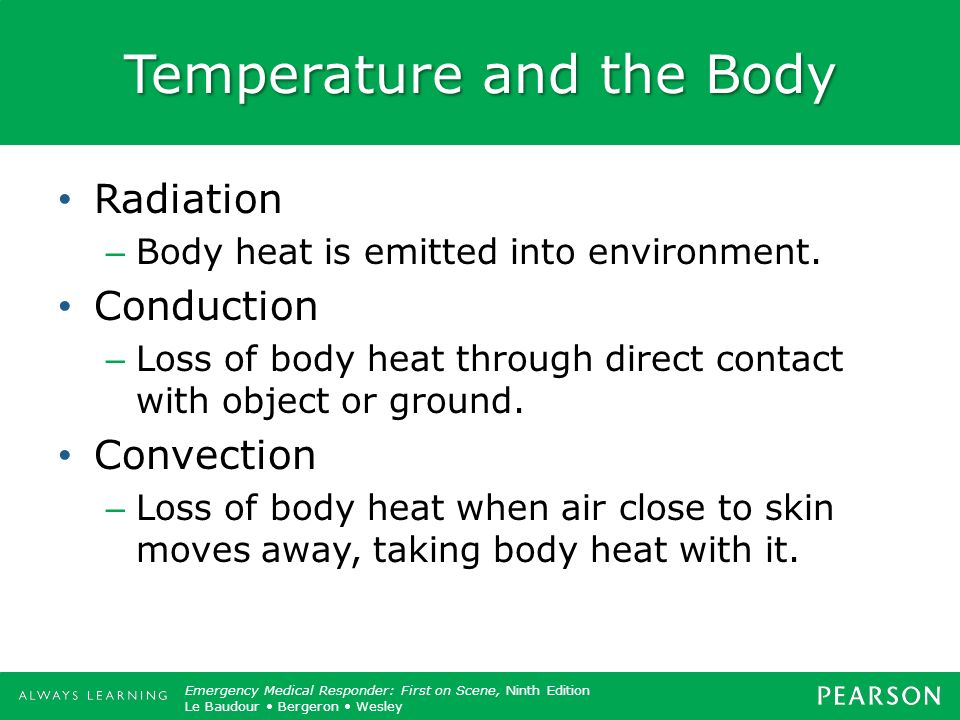 Temperature and the Body