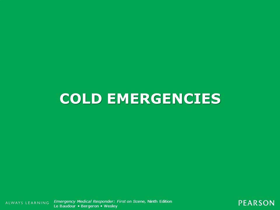 COLD EMERGENCIES