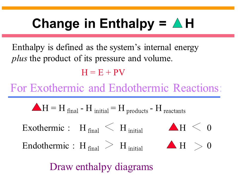 thermochemistry temperature and endothermic reaction Ap chemistry : endothermic and exothermic reactions study concepts in an endothermic reaction yes, increasing the temperature of an exothermic reaction will push the equilibrium towards the reactant's side.