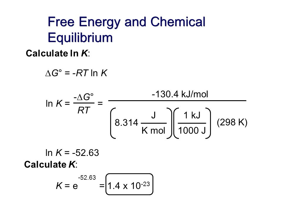 entropy free energy and chemical equilibrium Thermodynamics is the study of thermal, electrical, chemical, and mechanical forms of energy the study of thermodynamics crosses many disciplines, including physics, engineering, and chemistry of the various branches of thermodynamics, the most important to chemistry is the study of the change in.