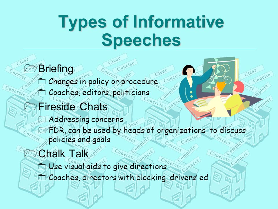 What Are the Four Types of Speeches?