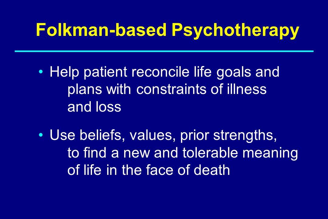 Folkman-based Psychotherapy