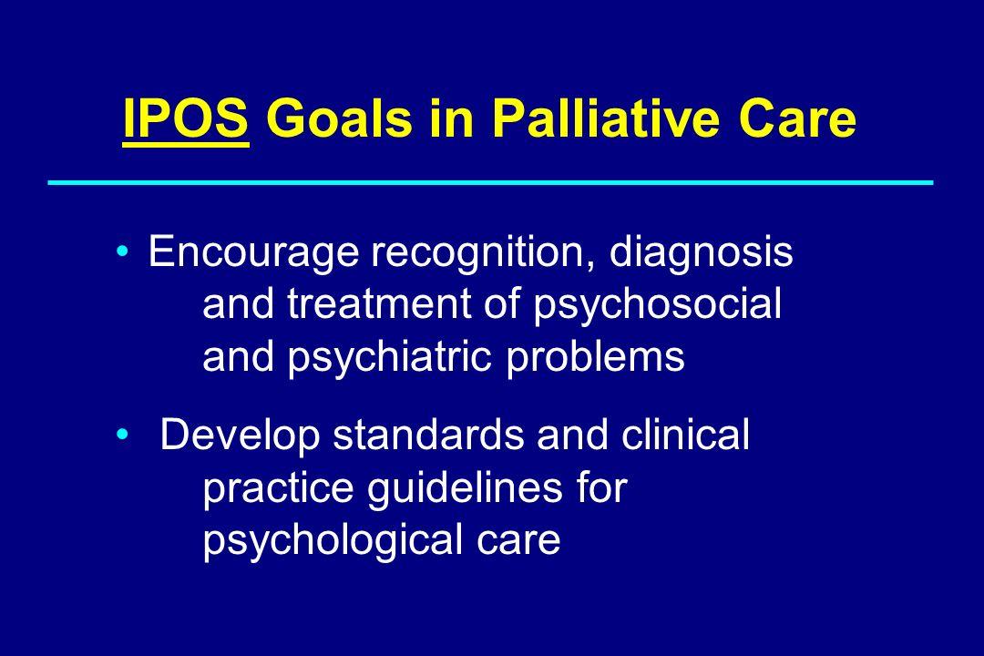 IPOS Goals in Palliative Care