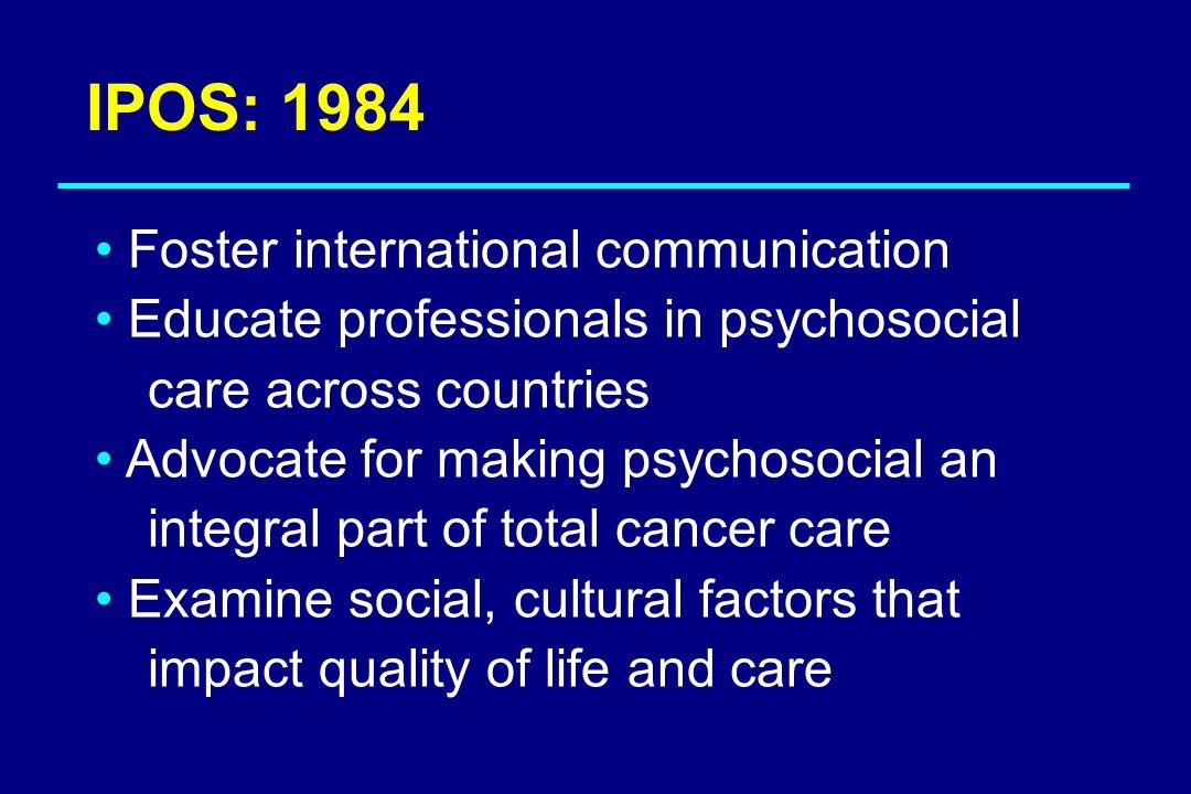 IPOS: 1984 Foster international communication