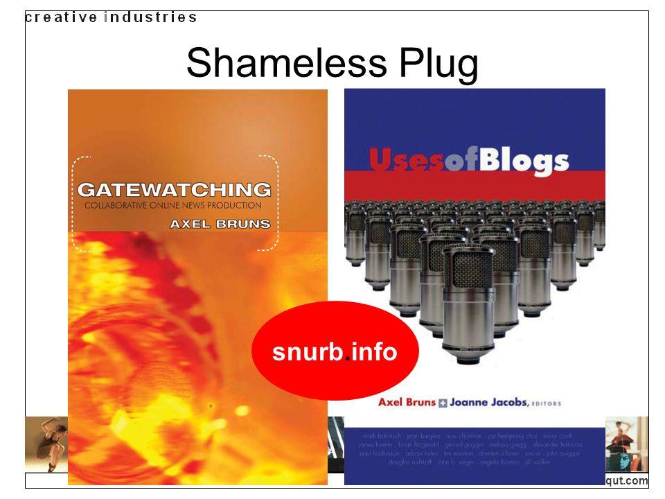 Shameless Plug snurb.info